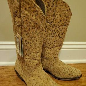 6.5 Roper Women's Cowboy Boots Cheetah